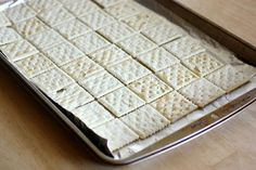 Saltine Cracker Toffee - The Girl Who Ate Everything