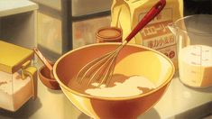 Uploaded by LYNX. Find images and videos about gif, anime and cooking on We Heart It - the app to get lost in what you love. Aesthetic Gif, Aesthetic Food, Witch Aesthetic, Anime Gifs, Anime Art, Main Manga, Anime Bento, Casa Anime, Cooking Quotes