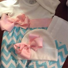 A personal favorite from my Etsy shop https://www.etsy.com/listing/183061281/newborn-layette-gown-set-coming-home-set