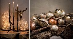 How to get into the Christmas spirit - PTMD Miami, Candle Holders, Spirit, How To Get, House Design, Candles, Christmas, Kunst, Xmas