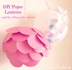 DIY Paper Lanterns