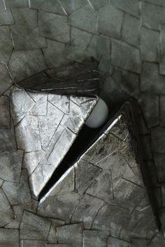 broken pyramid lamp