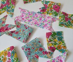 @molliemakes  contributor, Allison Sadler, shows us how to make table wedding decoration from mini#LibertyPrint bunting and jam jars#LibertyCraftBlog - The Liberty Craft Blog   Liberty.co.uk Blog - Part 3