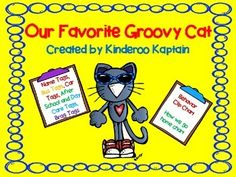 Our Favorite Groovy Cat has Behavior and Classroom Management charts that can be used all year long. Included is a behavior clip chart with the Favorite Groovy Cat theme. It also has a How we get home Chart. Accompanying the chart is name tags that match the how we get home chart.