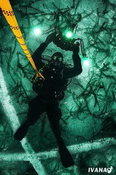 #eistauchen Austria, The Good Place, Amazing, Places, Diving School, Diving, Lugares