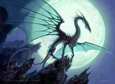 Moonveil Dragon by Todd Lockwood