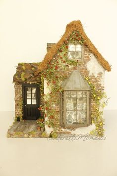 The Fairy Godmother& Cottage is my newly completed custom dollhouse. This house is a scale. Victorian Dollhouse, Modern Dollhouse, Diy Dollhouse, Dollhouse Furniture, Dollhouse Miniatures, Miniature Houses, Miniature Dolls, Minis, Cinderella Moments