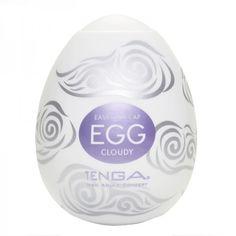 Cherri-picked, Tenga Cloudy Egg Masturbator, by CherriBox - Best toys, best fun!