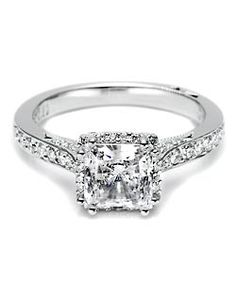 Tacori 2620 PR MD P 2620 PR MD P Engagement Ring and Tacori 2620 PR MD P 2620 PR MD P Wedding Ring