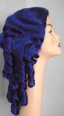 Ringlet girl - a long ringletted style wig potential for restyle victorian