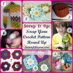 Great uses for scrap yarn! From JessieAtHome.com