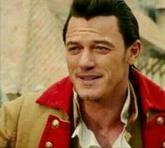 Luke Evans  playing Gaston in the Live-Action Beauty  and The Beast movie...lol may have been the villain, but dang he is so handsome ❤️