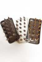 We've got the perfect accessory for all you bad ass fashionistas out there. The Spiked iPhone 4 Cases by Duarte And Jem make sure that your phone looks just as good as you do. Spikes are machine screwed tight so they won't fall off!    Silicon rubber case  Heavy duty metal spikes  Handmade in LA    $59