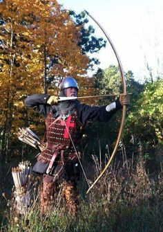 m Fighter archer Royal Army forest Scott Spears - Fotos/Videos von dir Medieval Archer, Medieval Knight, Medieval Fantasy, Medieval Weapons, Medieval Life, Larp, Archery Bows, Templer, Early Middle Ages