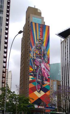 Faria Lima Avenue, Sao Paulo, Brazil. http://stores.ebay.com/urban-art-designs?_trksid=p2047675.l2563