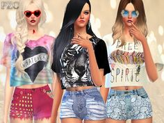 The Sims Resource: Intense Heat Set by Pinkzombiecupcake • Sims 4 Downloads
