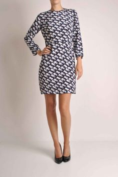Peter Jensen's dog print dress is so cute! We would dress it down with Biker boots or sneakers