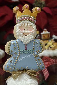 Melchor cookie, Dia De Los tres Reyes magos.