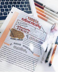 Bullet Journal Banner, Bullet Journal Notes, Bullet Journal School, Pretty Notes, Cute Notes, Good Notes, Beautiful Notes, School Motivation, Study Motivation