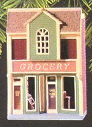 1998 Nostalgic Houses & Shops 15th Grocery Store Hallmark Keepsake Ornaments, Galveston, Grocery Store, Shops, Houses, Cabin, House Styles, Frame, Shopping