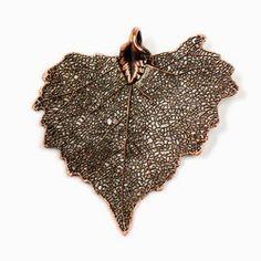 Cottonwood Leaf Pendant & Chain