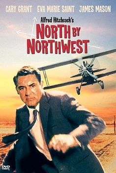 North by Northwest directed by Alfred Hitchcock #film #adventure | http://cinematicmovieposters.blogspot.com