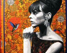 "Saatchi Art Artist raquel gralheiro; Painting, ""orange code"" #art"