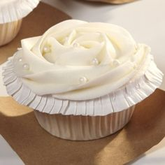 Champagne Cupcakes with Rosewater Buttercream  I tried these - they are awesome!!
