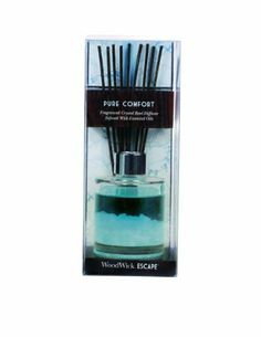 WoodWick Pure Comfort Reed Diffuser by WoodWick. Save 1 Off!. $14.89. Patent-pending crystal technology combined with vibrant colored oils create an elegant, one-of-a-kind diffuser that performs as well as it looks.. Crystal reed diffuser fragrances your home for up to 4 weeks or more.. Curl up with this comforting scent of line-dried linens with hints of sheer fruits and satin musk.
