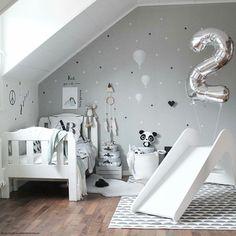 Kids Slide White Elephant by Jupiduu Playroom Slide, Pantone, Indoor Slides, Kids Slide, Handmade Wooden Toys, White Elephant, Kids Bedroom, Kids Rooms, Bedroom Ideas