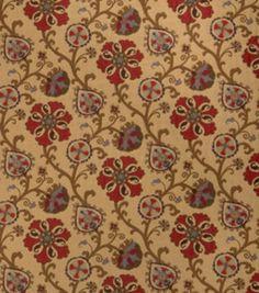 8''x8'' Home Decor Fabric Swatch-Print Fabric Eaton Square Oprah Elderberry