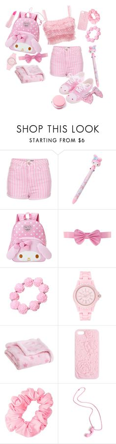 """""""another pink set"""" by adolie ❤ liked on Polyvore featuring Topshop, Miss Selfridge, Lipsy, Carter's, Wet Seal and American Apparel"""