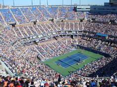 US Open tennis NYC.  Last Major of the year.  L O V E!