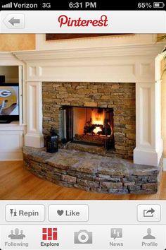 Favorite Things Linky: Feels Like Home | Brick fireplace, Lace ...