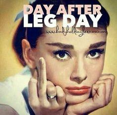 #legday