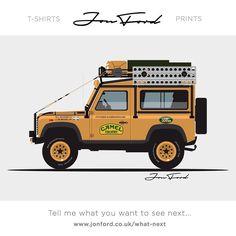 #landrover #landroverdefender #camellandrover #defender #jonford #classiccars…