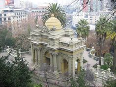 Cerro Santa Lucía (Santiago, Chile) #travel #sinbadtrips