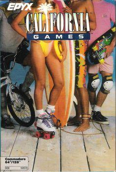 Epyx - California Games - Commodore 64