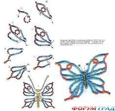 Композиции из бабочек