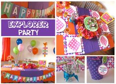 Dora the Explorer Party Printables