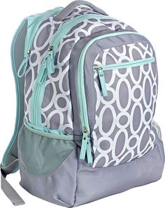 Studio C - One Hip Chick Backpack - Mint/Gray (Green/Gray)