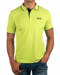 Polos hombre Hugo Boss Verde - Paddy Pro