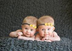 3 month old twins photo shoot - Google Search