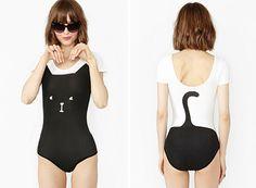 Black Cat Bodysuit
