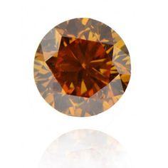 New Loose Brown Fancy Color Natural Round Excell Cut Diamond CW 0.066 Clarit SI2 #disoverdiaonds
