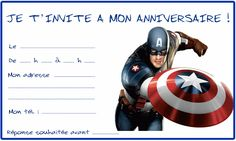 Avengers 1 William Birthday Party Birthday Invitations Birthdays