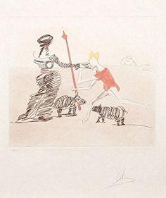 Pastorale from Historia de Don Quichote de la Mancha *** Read more  at the image link.