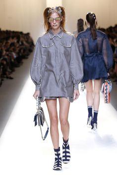 Model Fashion Show Fendi