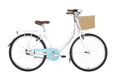 Barracuda Women's Dorado 3 Wheel Hybrid Bike, White, 14 Inch - Comfortable, lightweight alloy frame hassle free Shimano Nexus 3 speed internal hub gears wicker style basket and front and rear mudguards Dutch Bicycle, 3rd Wheel, Cycling Gear, Vintage Bicycles, Gears, Size 14, Dutch Bike, Gear Train