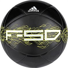 adidas Soccer Ball F50 Xite II 5 - Black/Lime/White